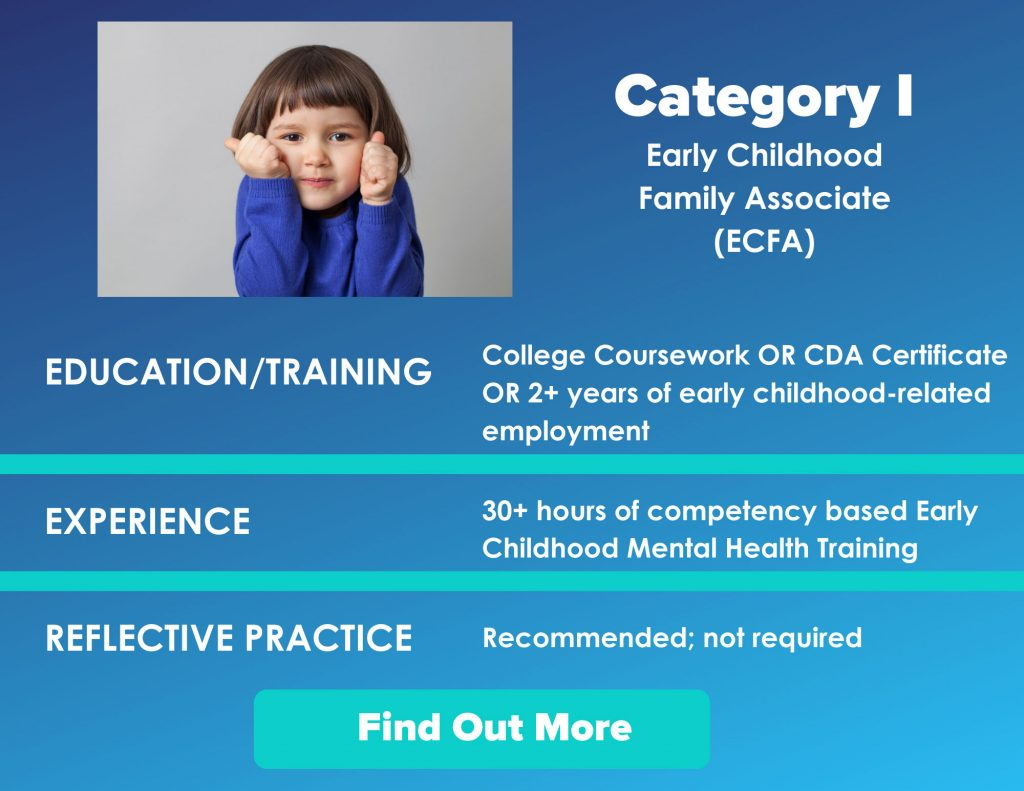 Category I Early Childhood Family Associate (ECFA)