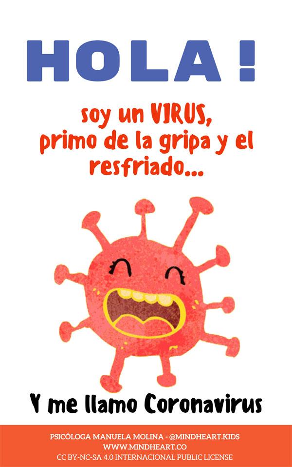 Cover of Hola! Soy un Virus y me llamo Coronavirus